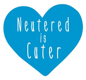 neutered is cuter
